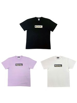 ROYAL MAJESTY(ロイヤルマジェスティー)/ BOX LOGO T-SHIRT