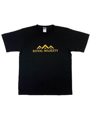 ROYAL MAJESTY(ロイヤルマジェスティー)/ KING T-SHIRT -BLACK-