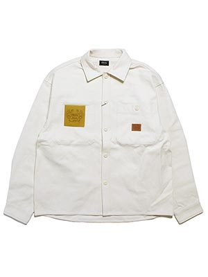 Cheers(チアーズ)/ DUCK SHIRT -NATURAL-