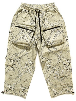 MAVEN(メイヴェン)/ PAISLEY TACTICAL PANTS -BEIGE-