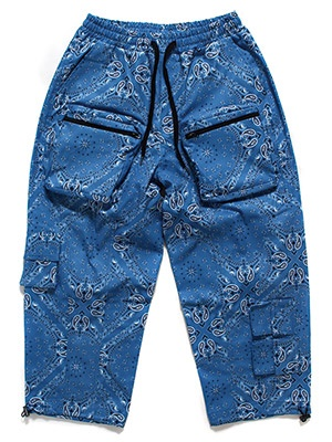 MAVEN(メイヴェン)/ PAISLEY TACTICAL PANTS -BLUE-