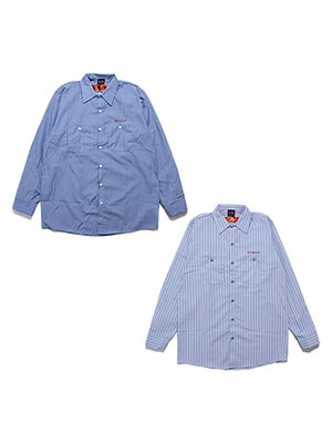 SCREP(スクレップ)/ S|C|R|E|P STRIPE SHIRT