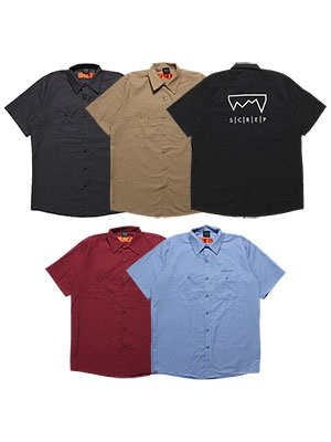 SCREP(スクレップ)/ GRAPPLE WORK SHIRT