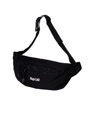 HIGH LIFE(ハイライフ)/ Cordura Bodybag -BLACK-