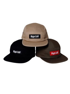 HIGH LIFE(ハイライフ)/ Box Logo Jet Cap -3.COLOR-