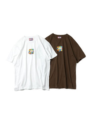 IRIE by irielife(アイリーバイアイリーライフ)/ CHOCOLATE LOGO TEE
