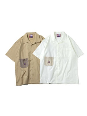 IRIE by irielife(アイリーバイアイリーライフ)/ CORDUROY POCKET S/S SHIRT