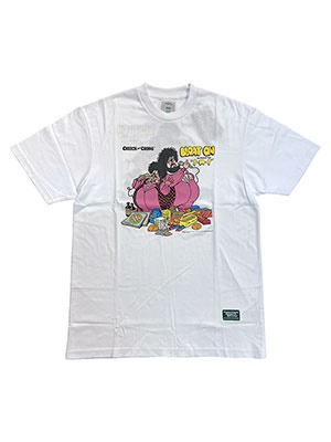 POT MEETS POP(ポットミーツポップ)/ BLOAT ON TEE