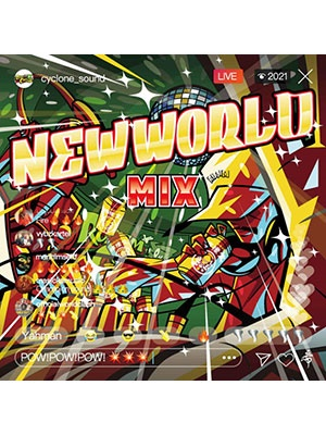 【CD】NEW WORLD MIX -MIX BY RODEM CYCLONE-