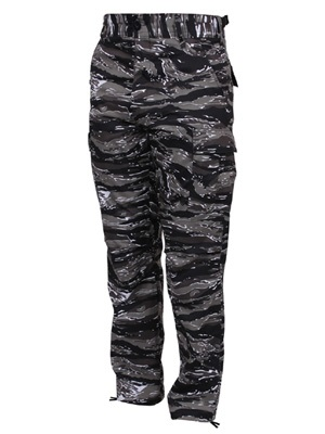 ROTHCO(ロスコ)/ CAMOUFLAGE BDU PANTS -BLACK-