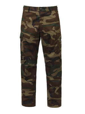 ROTHCO(ロスコ)/ CAMOUFLAGE BDU PANTS -OLIVE(WOODLAND CAMO)-