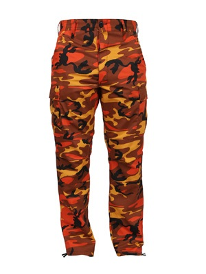ROTHCO(ロスコ)/ CAMOUFLAGE BDU PANTS -ORANGE-