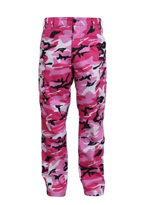 ROTHCO(ロスコ)/ CAMOUFLAGE BDU PANTS -PINK-