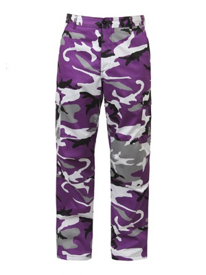 ROTHCO(ロスコ)/ CAMOUFLAGE BDU PANTS -PURPLE-