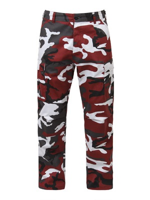 ROTHCO(ロスコ)/ CAMOUFLAGE BDU PANTS -RED-
