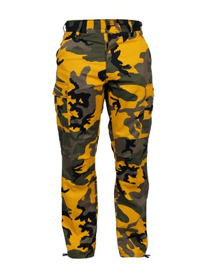 ROTHCO(ロスコ)/ CAMOUFLAGE BDU PANTS -YELLOW-