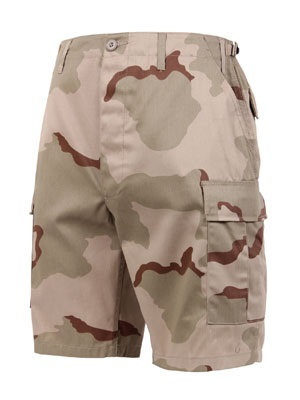 ROTHCO(ロスコ)/ CAMO BDU SHORTS -TRI COLOR DESERT-