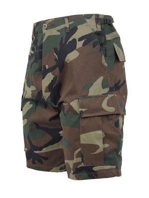 ROTHCO(ロスコ)/ CAMO BDU SHORTS -WOODLAND-