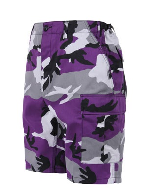 ROTHCO(ロスコ)/ CAMO BDU SHORTS -ULTRA VIOLET-