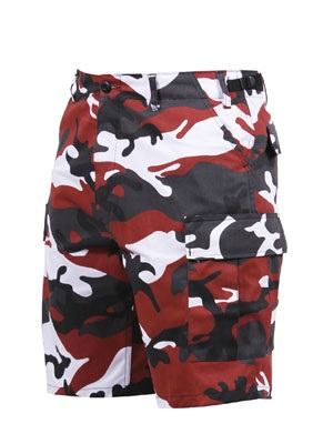 ROTHCO(ロスコ)/ CAMO BDU SHORTS -RED-