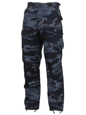 ROTHCO(ロスコ)/ CAMOUFLAGE BDU PANTS -MIDNIGHT BLUE-