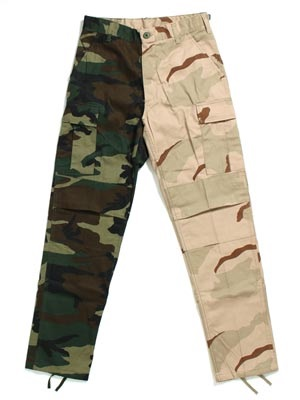 ROTHCO(ロスコ)/ TWO-TONE CAMO BDU PANTS 1870 -WOODLAND / TRI-COLOR CAMO-