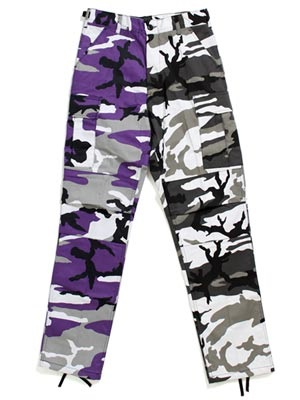 ROTHCO(ロスコ)/ TWO-TONE CAMO BDU PANTS 1840 -ULTRA VIOLET PURPLE / CITY CAMO-