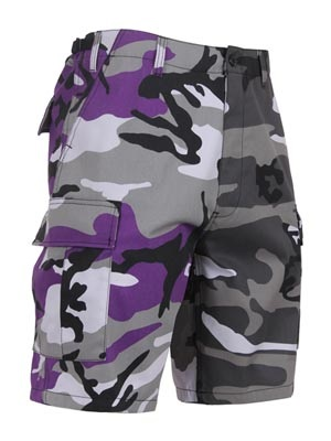ROTHCO(ロスコ)/ TWO-TONE CAMO BDU SHORT -VIOLET/CITY-