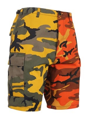 ROTHCO(ロスコ)/ TWO-TONE CAMO BDU SHORT -YELLOW/ORANGE-