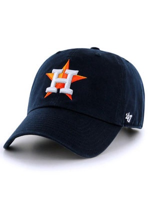 47 BRAND(フォーティーセブンブランド)/ ASTROS HOME'47 CLEAN UP -NAVY-