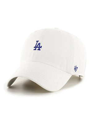 47 BRAND(フォーティーセブンブランド)/ DODGERS BASE RUNNER'47 CLEAN UP -WHITE-