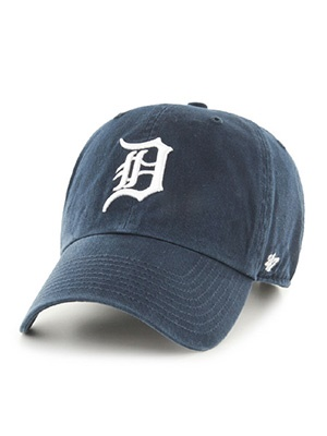 47 BRAND(フォーティーセブンブランド)/ Tigers Home'47 CLEAN UP CAP -NAVY-