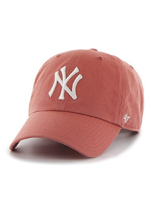 47 BRAND(フォーティーセブンブランド)/ YANKEES HOME'47 CLEAN UP CAP -ISLAND RED-