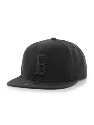 47 BRAND(フォーティーセブンブランド)/ Red sox Sure Shot Black '47 CAPTAIN -Black x Black-