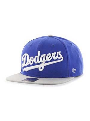47 BRAND(フォーティーセブンブランド)/ Dodgers SCRIPT SIDE TWO TONE'47 CAPTAIN -ROYAL-