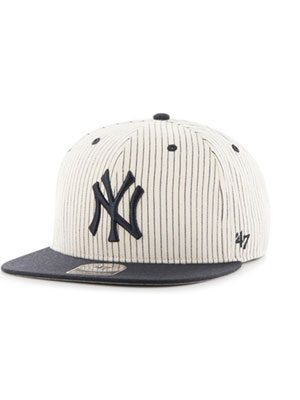 47 BRAND(フォーティーセブンブランド)/ YANKEES WOODSIDE'47 CAPTAIN -NAVY-