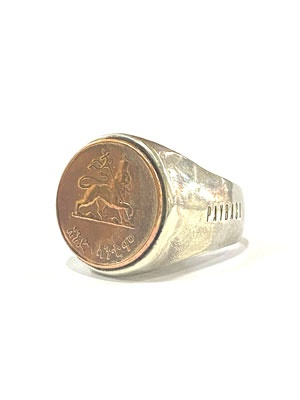 PAYBACK(ペイバック)/ ETHIOPIA LION OF JUDAH SILVER RING