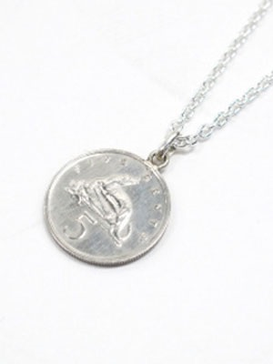 PAYBACK(ペイバック)/ JAMAICAN COIN TOP 5 CENT COIN NECKLACE