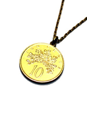 PAYBACK(ペイバック)/ JAMAICA 10C GOLD COIN NECKLACE