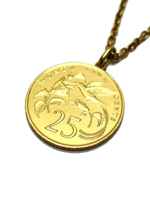 PAYBACK(ペイバック)/ JAMAICA 25C GOLD COIN NECKLACE