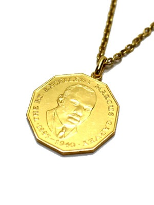 PAYBACK(ペイバック)/ JAMAICA 50C GOLD COIN NECKLACE