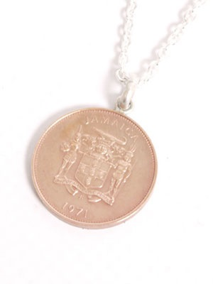 JAMAICAN COIN TOP(ジャマイカンコイントップ)/ 1 CENT COIN NECKLACE