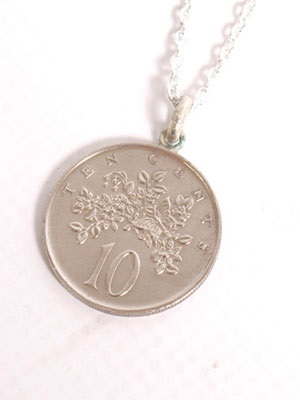 JAMAICAN COIN TOP(ジャマイカンコイントップ)/ 10 CENT COIN NECKLACE
