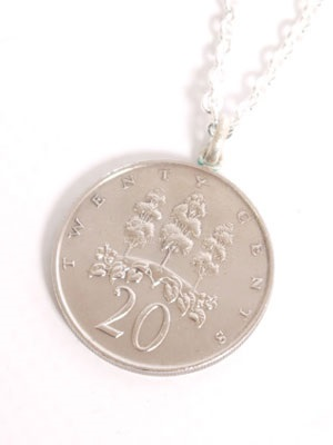 JAMAICAN COIN TOP(ジャマイカンコイントップ)/ 20 CENT COIN NECKLACE