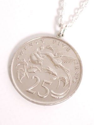 JAMAICAN COIN TOP(ジャマイカンコイントップ)/ 25 CENT COIN NECKLACE