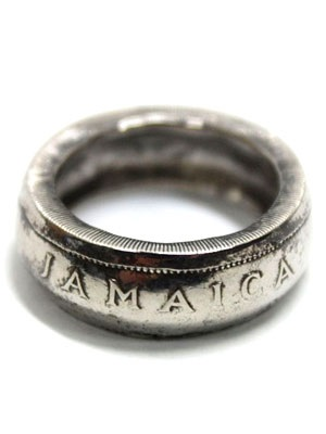 JAMAICAN COIN TOP(ジャマイカンコイントップ)/ JAMICA COIN RING -25 CENT-