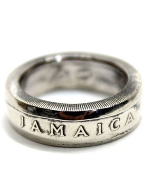 JAMAICAN COIN TOP(ジャマイカンコイントップ)/ JAMICA COIN RING -20 CENT-