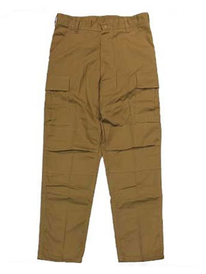 ROTHCO(ロスコ)/ TACTICAL BDU PANTS -COYOTE-