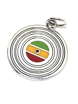 RASTA VIBRATIONS(ラスタバイブレーション)/ RECORD NECKLACE